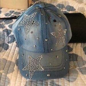 Accessories - Star bedazzled hat